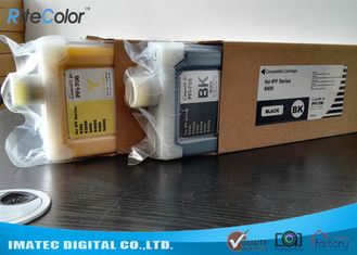 चीन Replacement Wide Format Inks PFI-706 Refillable Ink Tank Cartridges 700Ml आपूर्तिकर्ता