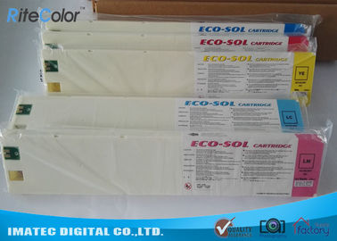 चीन Compatible Wide Format Eco Solvent Ink For Roland / Mimaki Printer आपूर्तिकर्ता