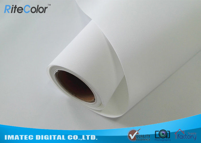 300D×300D Matte Polyester Canvas Fabric Roll For Wide Format Printers आपूर्तिकर्ता
