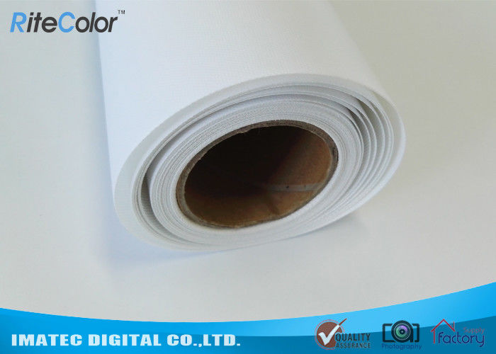 HP Inkjet Printers Digital Print Latex Media 100% Polyester Canvas Fabric आपूर्तिकर्ता