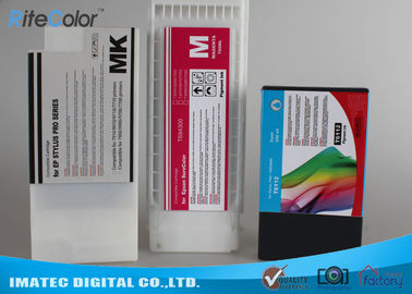 चीन Industry Printing 350Ml Wide Format Inks , Epson 7900 / 9900 Printer Compatible Ink Cartridges वितरक