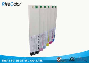 चीन 440ml Eco Sol Max 2 Ink Cartridge For Roland DX-7 Wide Format Printers वितरक