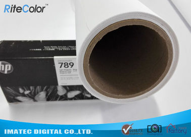 चीन Latex Media Pure Polyester Canvas Roll For Large Format Printers वितरक