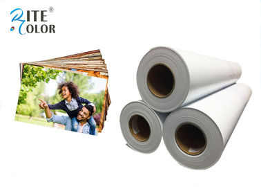 चीन Smooth 190gsm Resin Coated Photo Paper , Large Format Silky Photo Paper For Inkjet Printer फैक्टरी