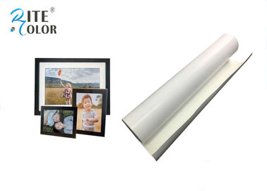 चीन Water Resistance 260gsm Eco Digital Media , White RC Microporous Luster Photo Paper फैक्टरी